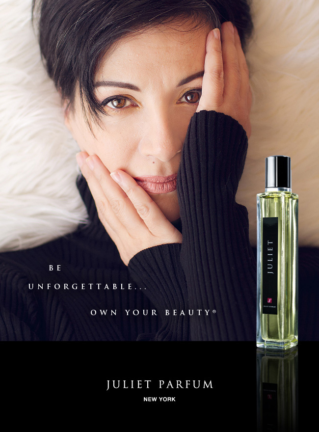 Juliet Stewart home Page Portrait and Perfume